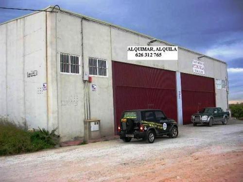 Alquiler nave industrial 400 m2 los montesinos