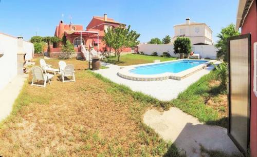 Chalet san Luis la Siesta con piscina Torrevieja