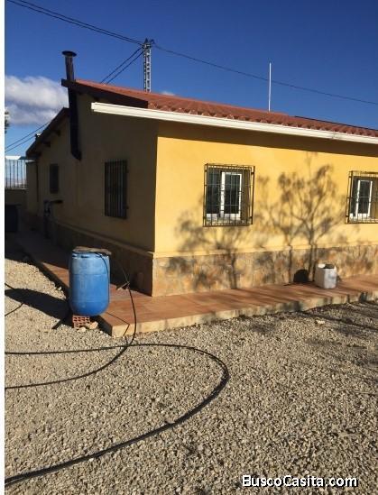 Venta terreno de 12.000€ con casa luz y pantano