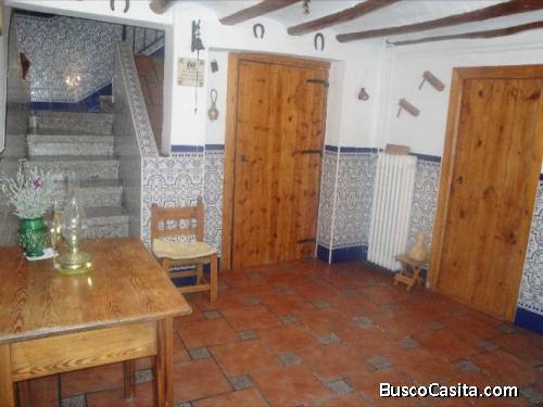 casa restaurada para entrar a vivir