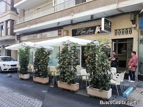Alquiler bar cafeteria con cocina centro Torrevieja